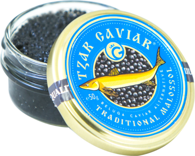 "Gourmet Partners Tzar Delicates ""Beluga Caviar Alternative"" blue - sklenice, 50g - 1"