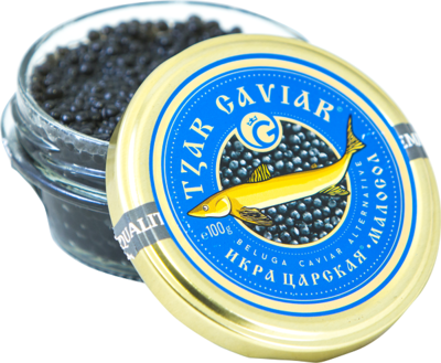 "Gourmet Partners Tzar Delicates ""Beluga Caviar Alternative"" blue - sklenice, 100g - 1"