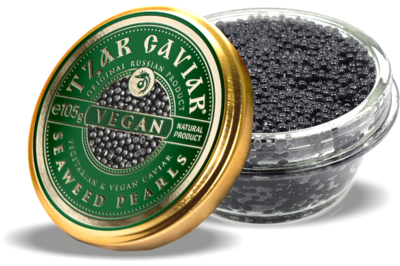 "Gourmet Partners Tzar Delicates ""VEGAN"" Caviar Alternative - sklenice,  105g"