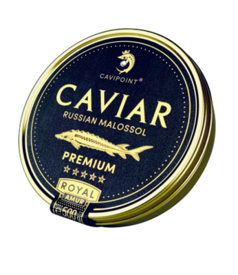 AMUR ROYAL - PREMIUM sturgeon caviar, 500g tin