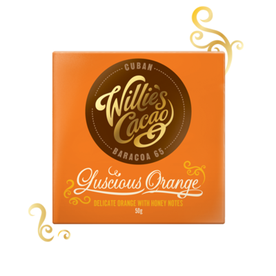 Willie's Cacao Čokoláda Cuban Orange hořká 65%, 50g - 1