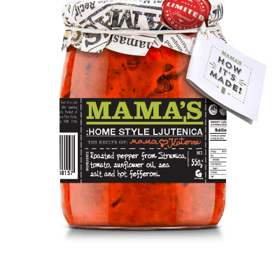 Mamas Lutenica Home Made Mamas, 550g